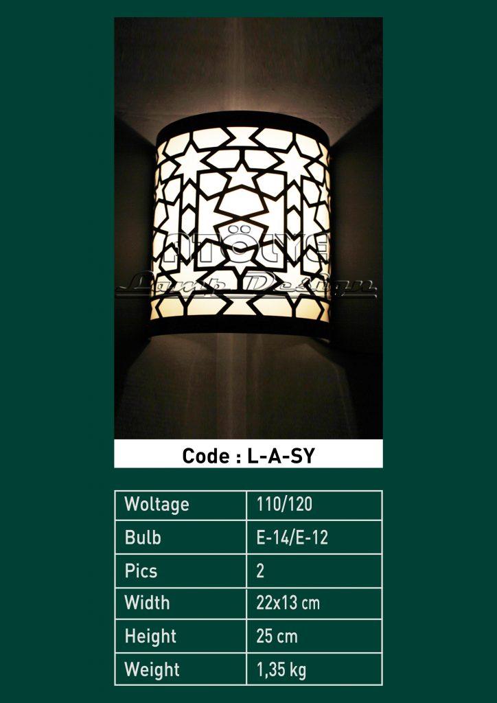 aplik lamba osmanlı dizayn