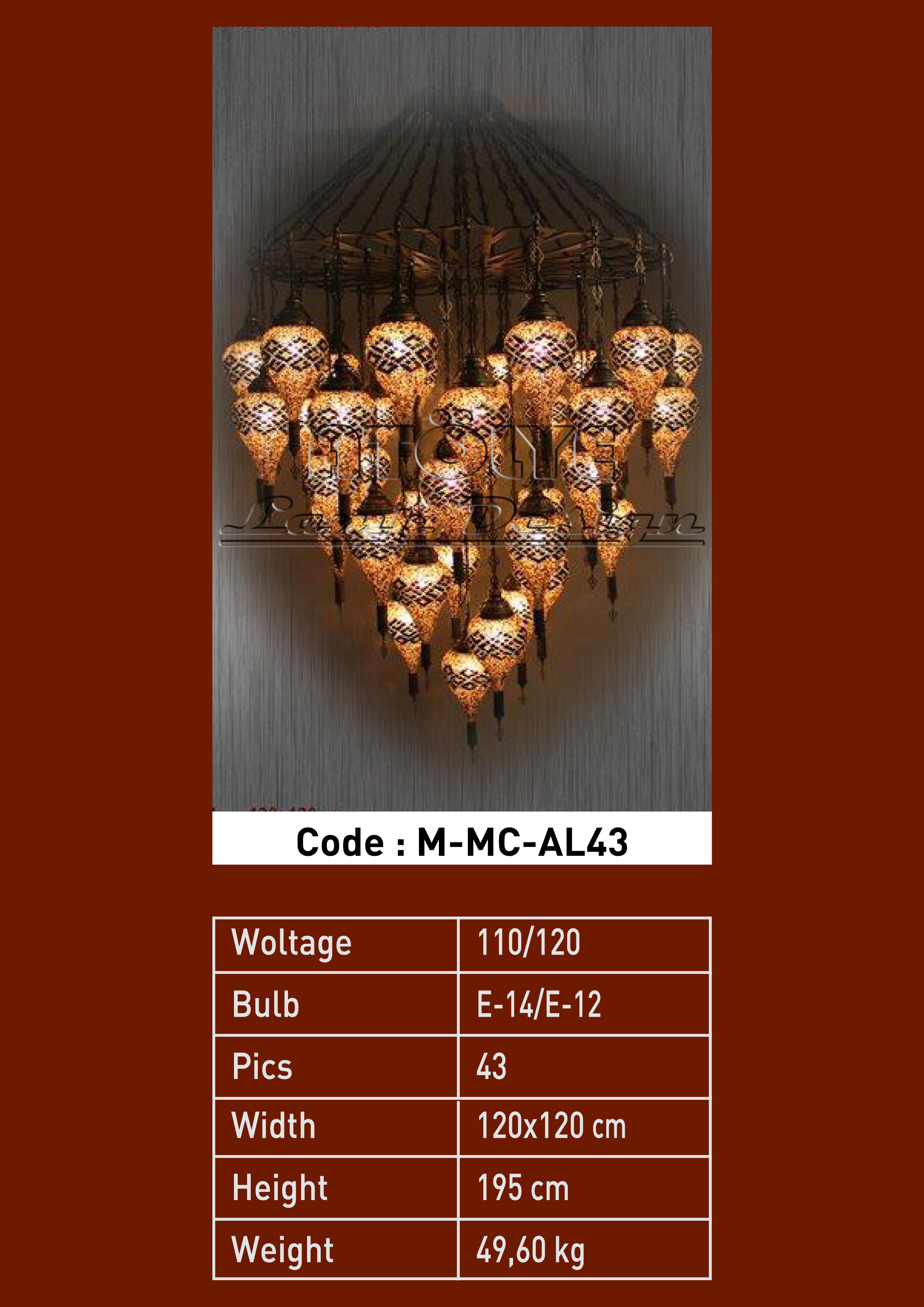 turkish mosaic light 43 glass drop chendelier