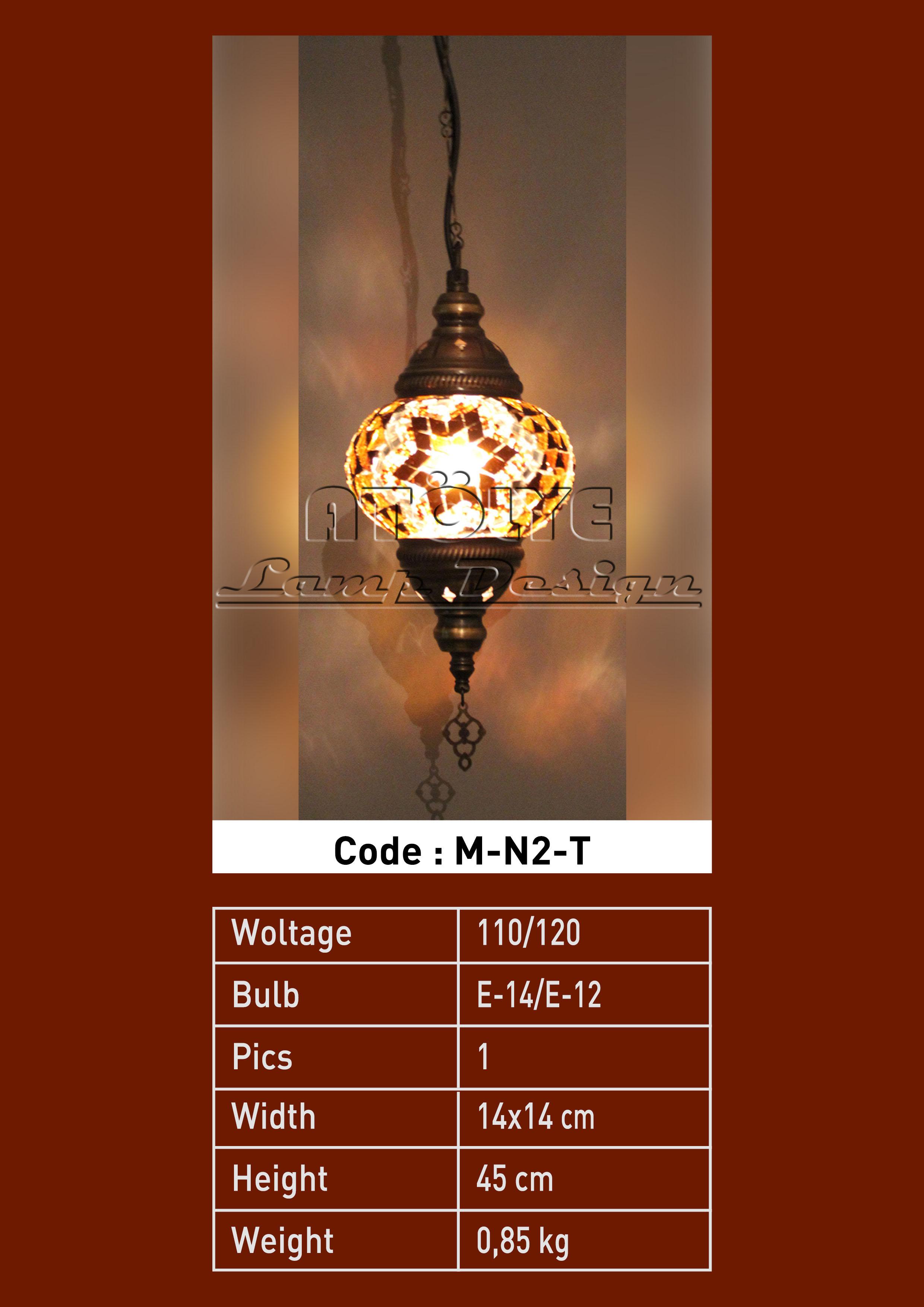 mozaik lamba tekli no2
