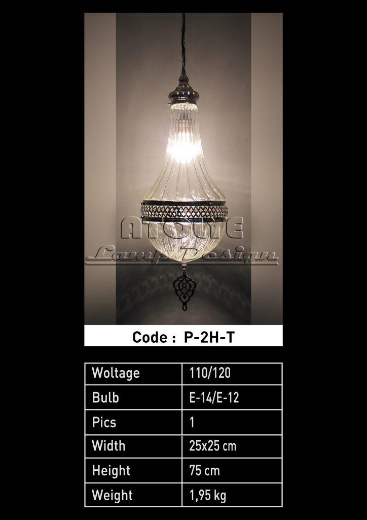 pyrex tek askılı lamba