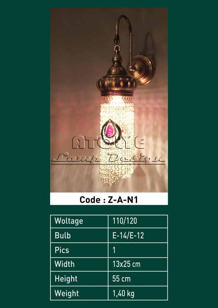aplik lamba zincirli